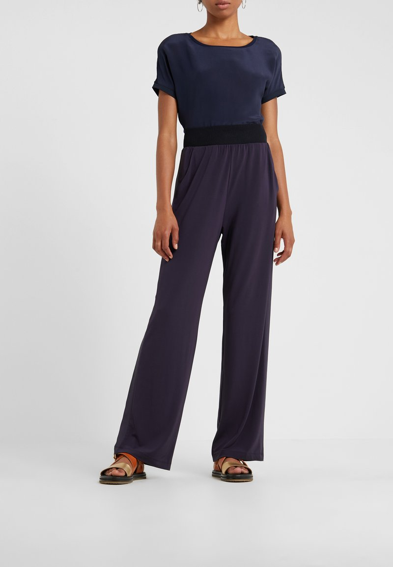 MAX&Co. - CONO - Trousers - midnight blue