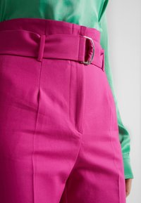MAX&Co. - CANDORE - Pantalon classique - plum - 3