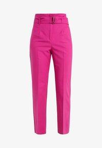 MAX&Co. - CANDORE - Pantalon classique - plum - 4