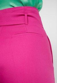 MAX&Co. - CANDORE - Pantalon classique - plum - 5