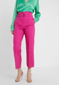 MAX&Co. - CANDORE - Pantalon classique - plum - 0