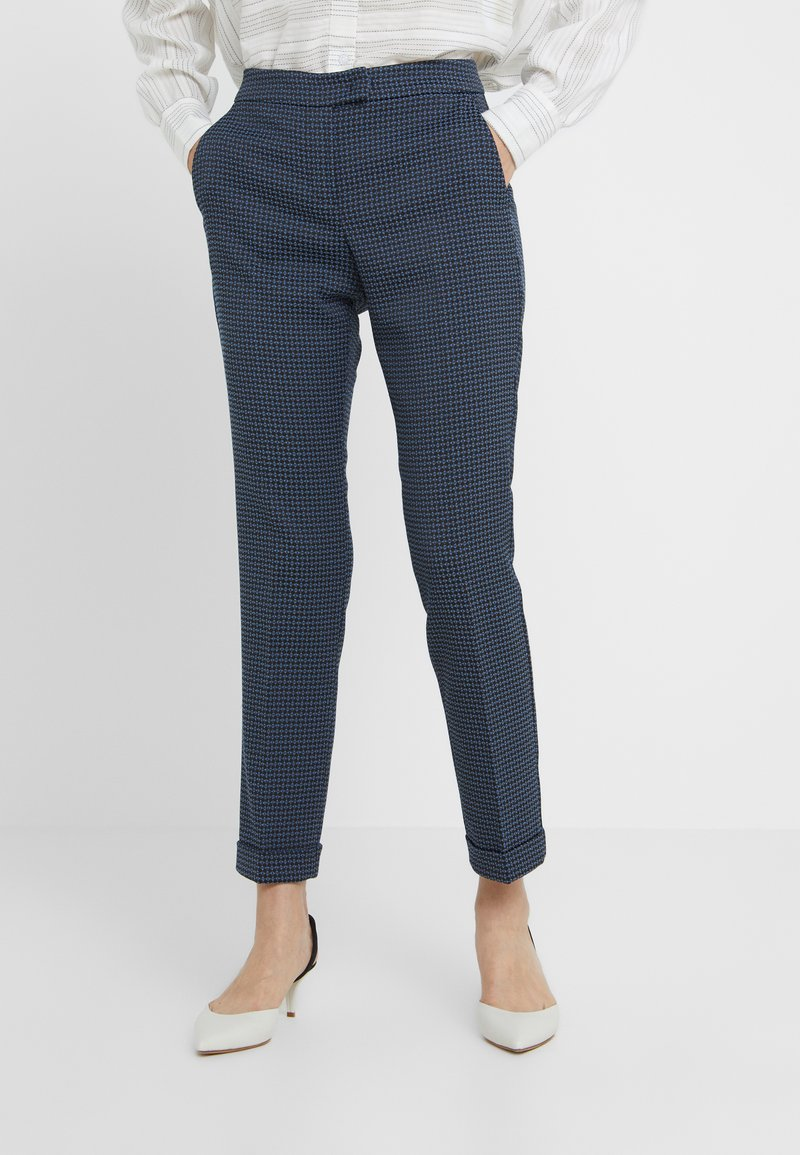 MAX&Co. - PASCAL - Broek - navy blue pattern