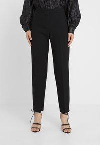 MAX&Co. - CARMINIO - Trousers - black - 0