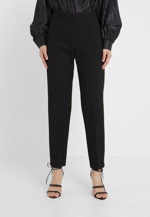 CARMINIO - Kalhoty - black