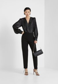 MAX&Co. - CARMINIO - Trousers - black - 1