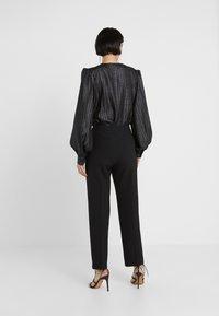 MAX&Co. - CARMINIO - Trousers - black - 2