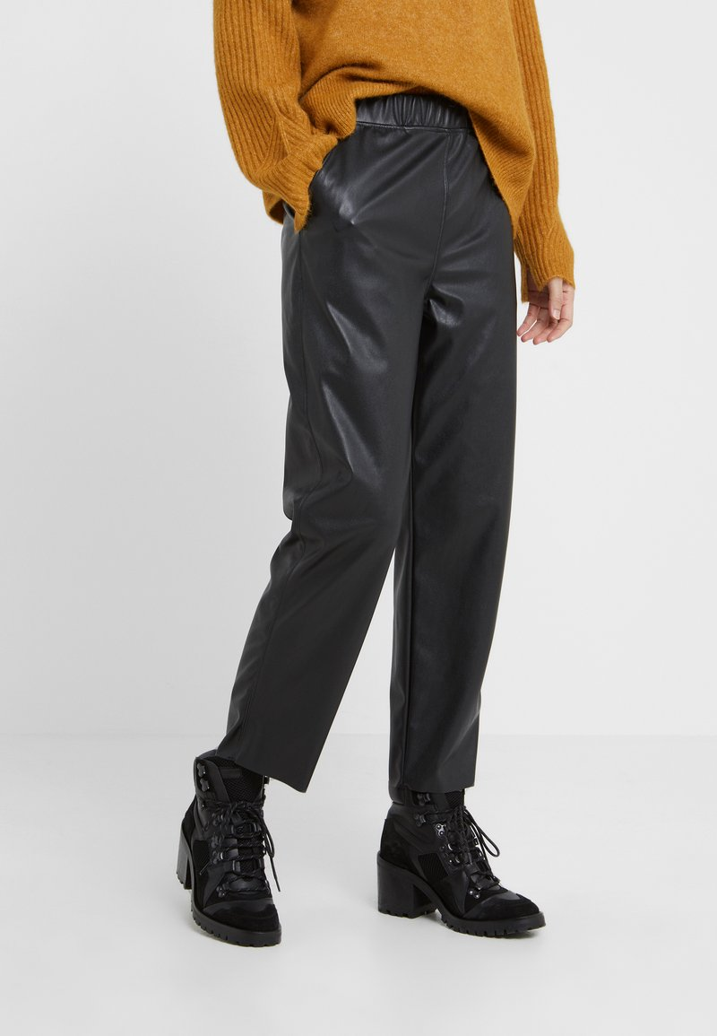 MAX&Co. - DOSSIER - Trousers - black