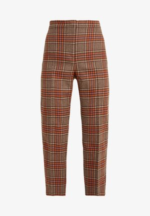 DIVISO - Pantalones - brown pattern