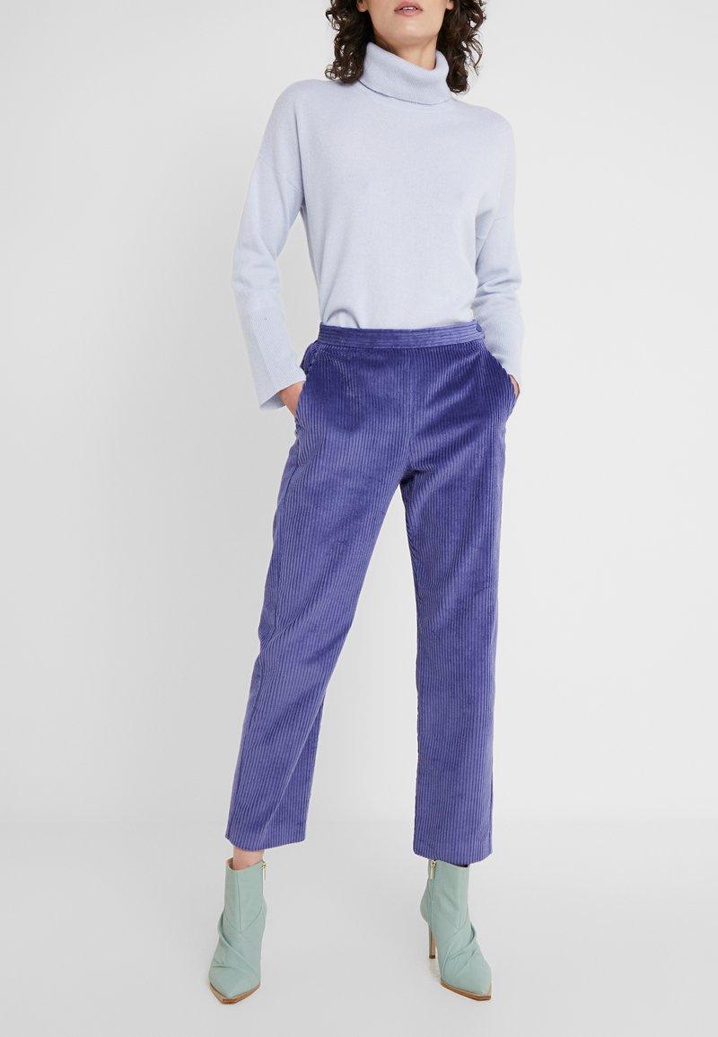 MAX&Co. - DIVINITA - Trousers - light blue