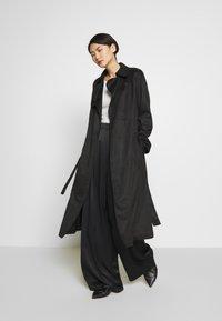 MAX&Co. - PEGNO - Trousers - black - 1