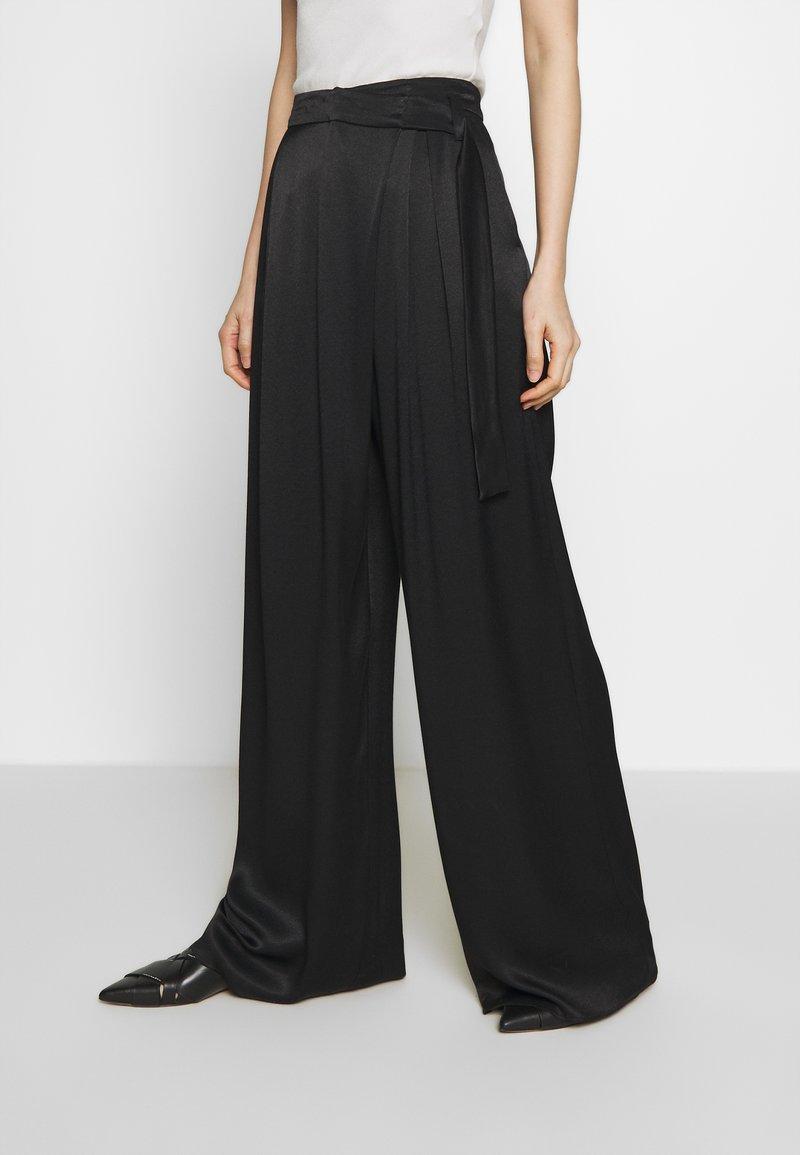 MAX&Co. - PEGNO - Trousers - black