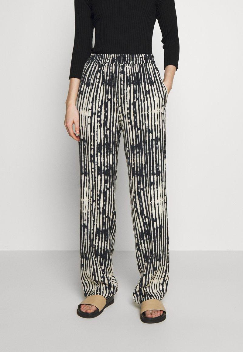 MAX&Co. - CAVALLO - Trousers - black
