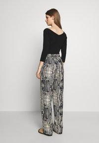 MAX&Co. - CAVALLO - Trousers - black - 2