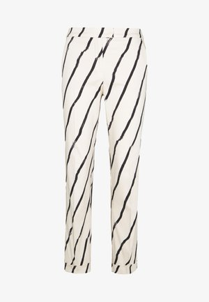CEMENTO - Trousers - ivory pattern