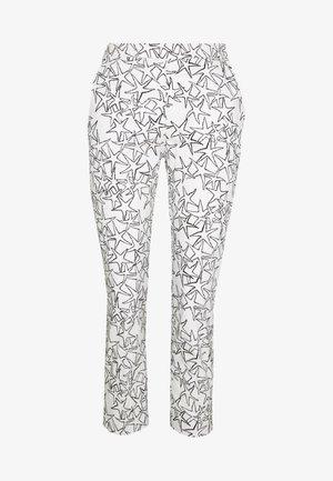 DISEGNO - Spodnie materiałowe - white