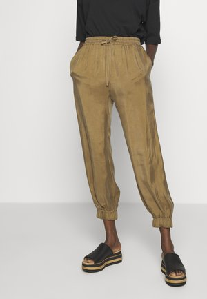 DITTA - Tracksuit bottoms - brown