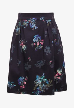 PAELLA - A-line skirt - navy blue
