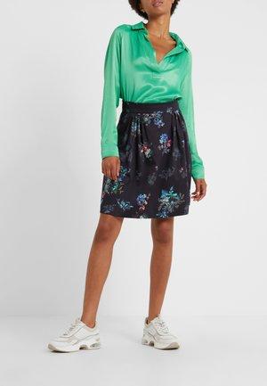PAELLA - A-line skirt - navy blue