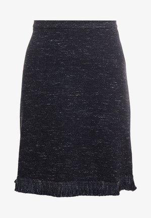 DONNA - A-line skirt - black pattern