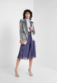 MAX&Co. - PREMIATO - A-line skirt - purple - 1