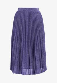 MAX&Co. - PREMIATO - A-line skirt - purple - 4
