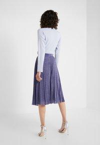 MAX&Co. - PREMIATO - A-line skirt - purple - 2