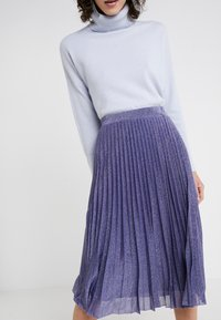 MAX&Co. - PREMIATO - A-line skirt - purple - 3