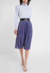 MAX&Co. - PREMIATO - A-line skirt - purple - 0