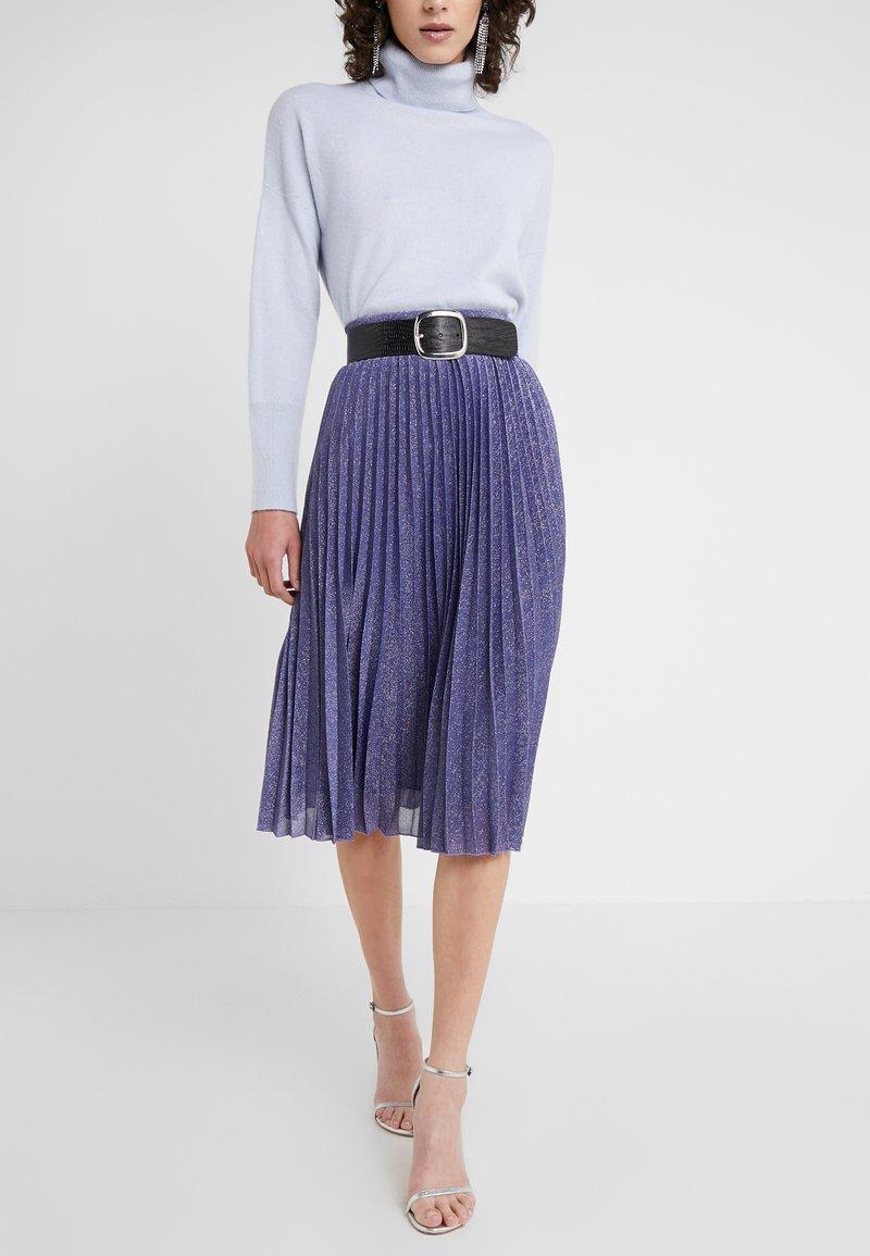 MAX&Co. - PREMIATO - A-line skirt - purple
