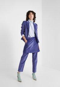 MAX&Co. - DOGANALE - Áčková sukně - light blue - 1