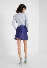 MAX&Co. - DOGANALE - Áčková sukně - light blue - 2