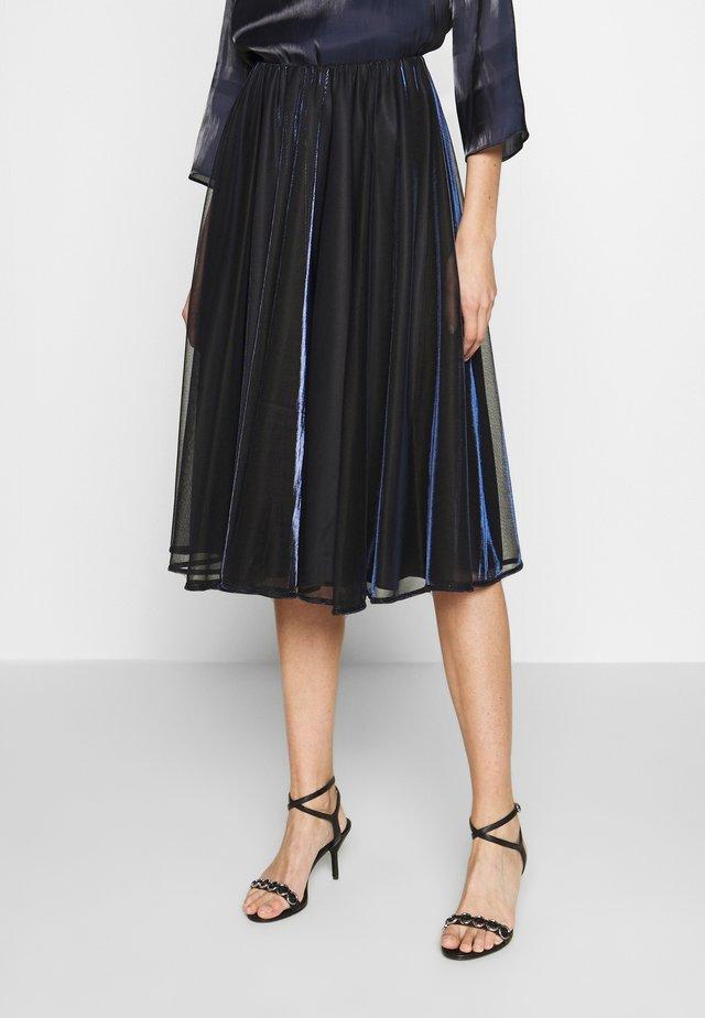 PREMIATO - Áčková sukně - midnight blue