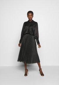 MAX&Co. - PRINCIPE - Áčková sukně - dark grey - 1