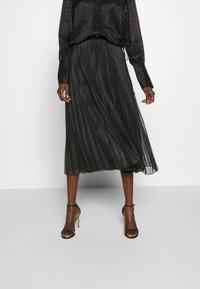 MAX&Co. - PRINCIPE - Áčková sukně - dark grey - 0