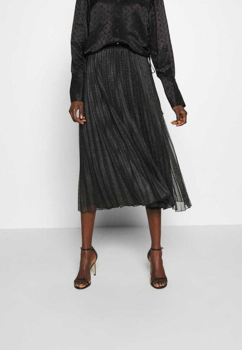 MAX&Co. - PRINCIPE - Áčková sukně - dark grey