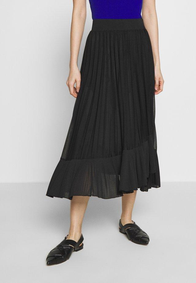 PAGABILE - Áčková sukně - black