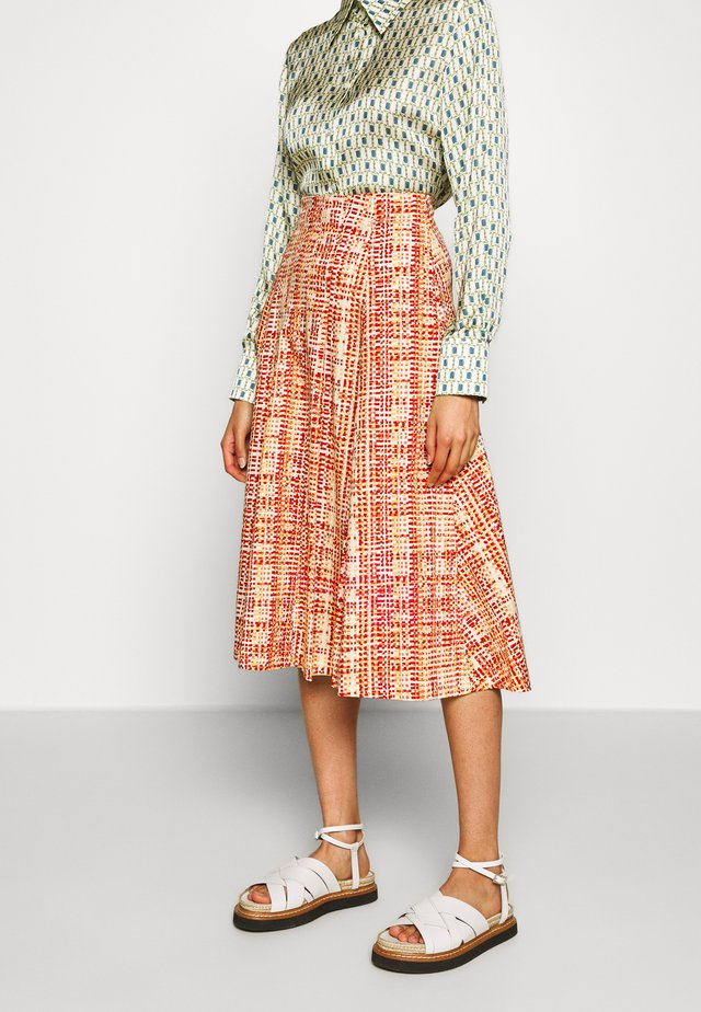 DINAMITE - A-line skirt - old rose