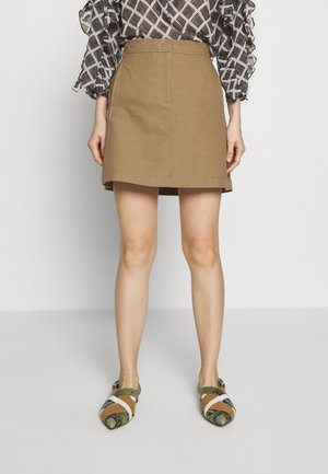 CAVILLO - A-line skirt - brown