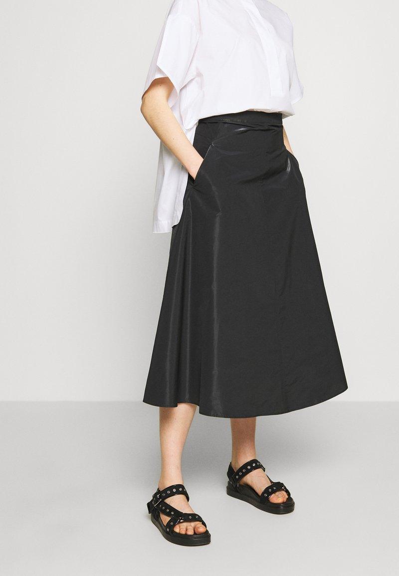 MAX&Co. - PASTA - Áčková sukně - black