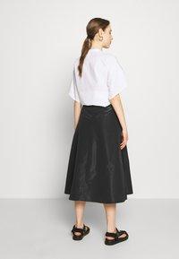 MAX&Co. - PASTA - Áčková sukně - black - 2