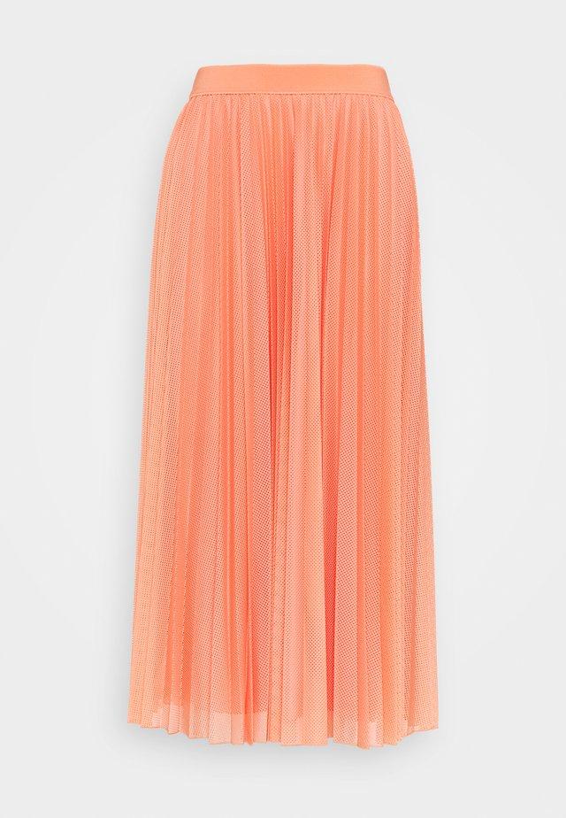 DIGA - A-line skirt - salmon pink