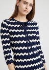 MAX&Co. - CRISTINA - Strickkleid - navy blue pattern