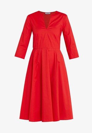 DISCO - Vestido informal - burgundy