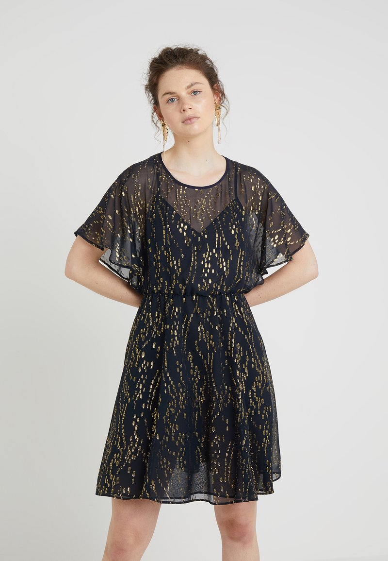MAX&Co. - PENNA - Day dress - navy blue