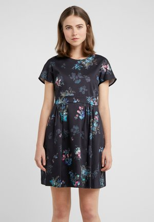 PANAMA - Day dress - navy blue pattern
