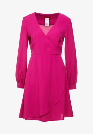 DATIVO - Korte jurk - plum