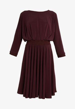 CONFERMA - Jersey dress - plum