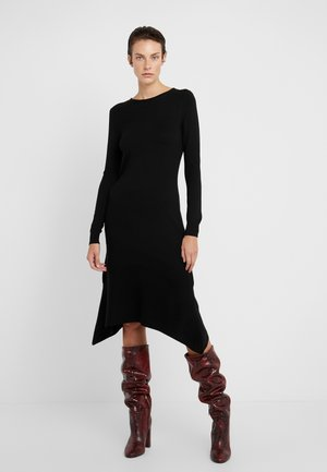 CORDOVA - Jumper dress - black