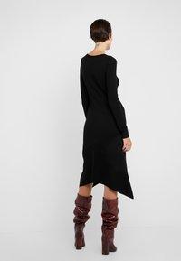 MAX&Co. - CORDOVA - Robe pull - black - 2