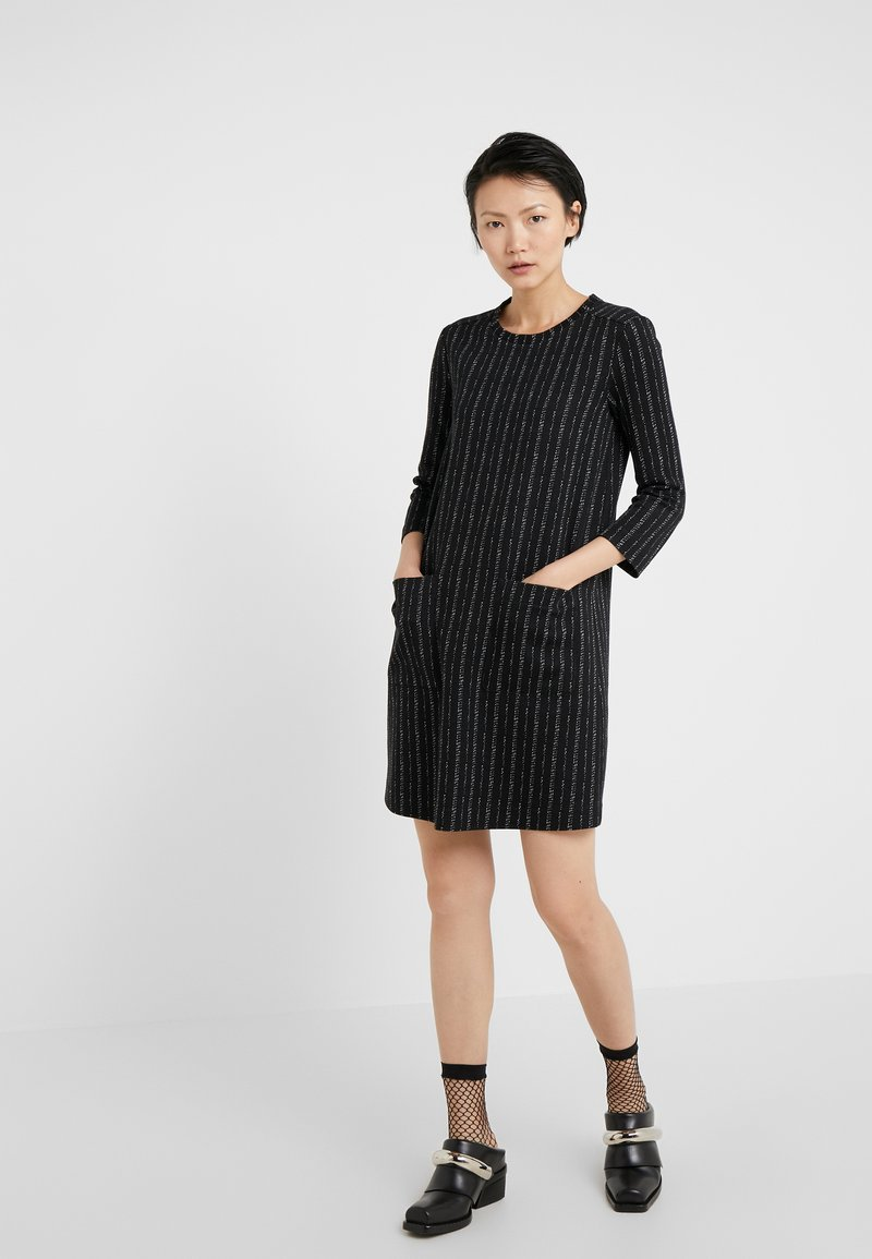 MAX&Co. - COSMO - Strickkleid - black pattern